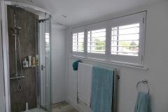 Wide Bathroom Window Fitted in Modern Bathroom