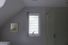 Single Waterproof Shutter Fitted to Bathroom Window
