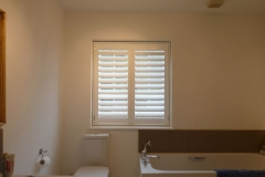Waterproof ABS Shutters Fitted in Bathroom
