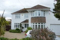 Large House with Shutter Fitted to Two Round Bay Windows