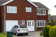 Large House with all Front Facing Windows Fitted with Internal Shutters
