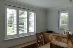 Full Height Plantation Shutters in Dining Room