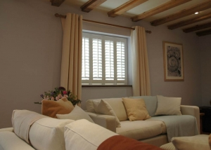 Shutters installed for 60min makeover Ashford