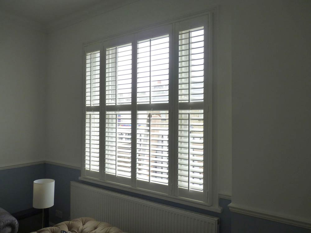 Shutters fitted Channel Four show Help My House Is Falling down