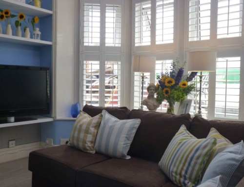Shutters on 60min makeover with Peter Andre