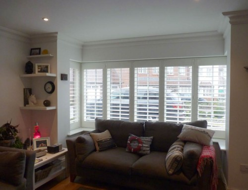 Window shutters interior