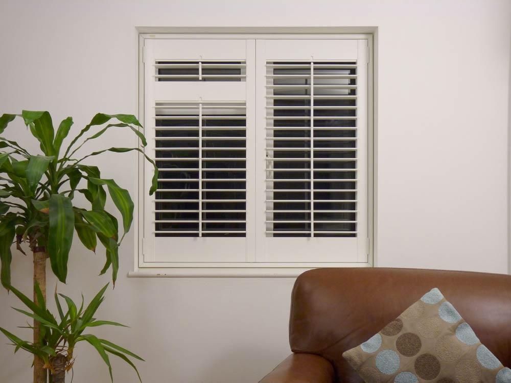 Medium 64mm louvred window shutter