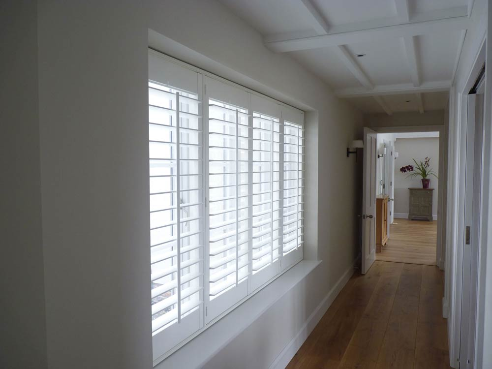 Shutters in the hall