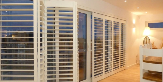 Photos Of Track Mounted Shutters