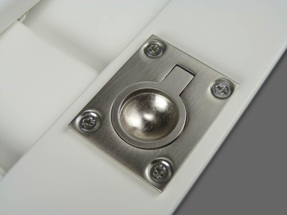 Shutter ring pull