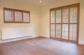 Combating the cold weather with internal window shutters