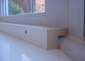Close up rebated batten