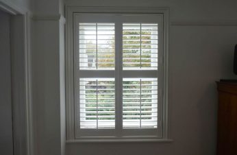UPVC shutter on sash