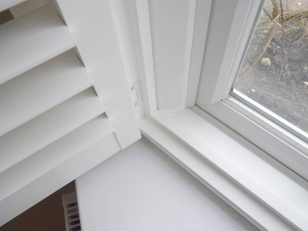 Open bay shutters