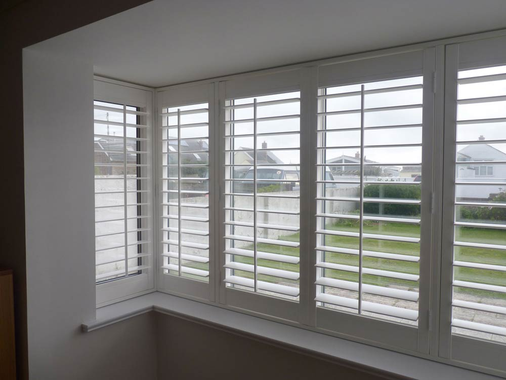 Photos Of Plantation Shutters On Square Bay Windows