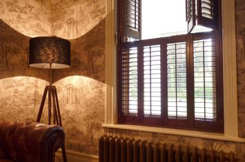 Wooden Shutters for Privacy and Security
