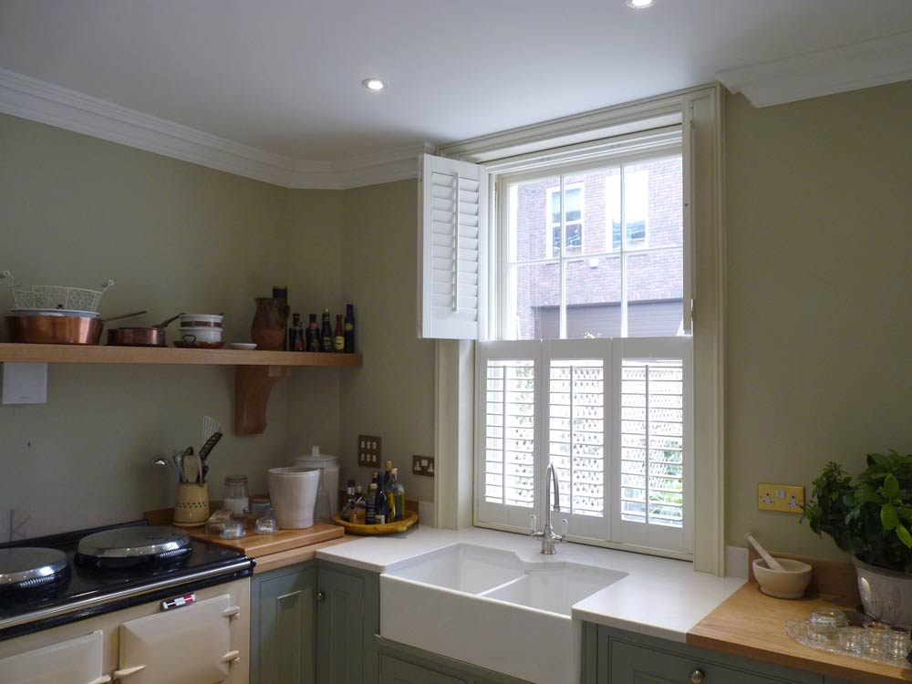 Top opening kitchen shutters