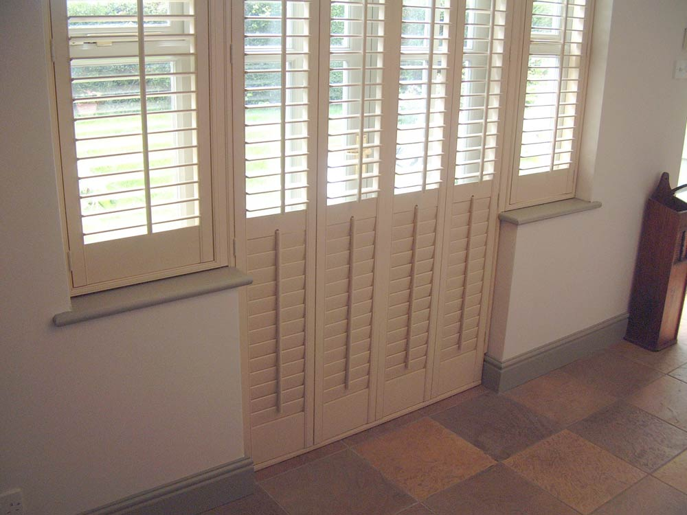 French door plantation style shutters · Gallery & Photos of shutters on doors Pezcame.Com