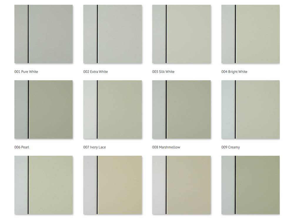Scraft colour range