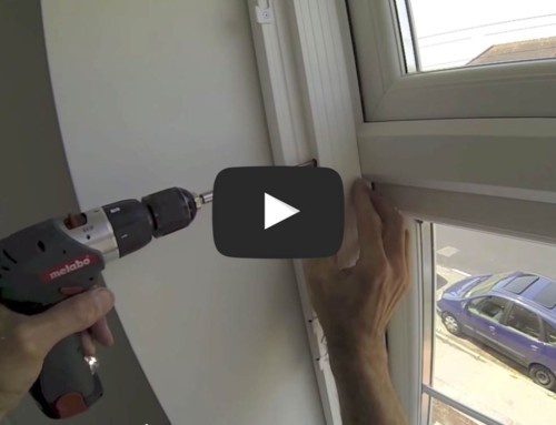 How to fit Vinyl shutters