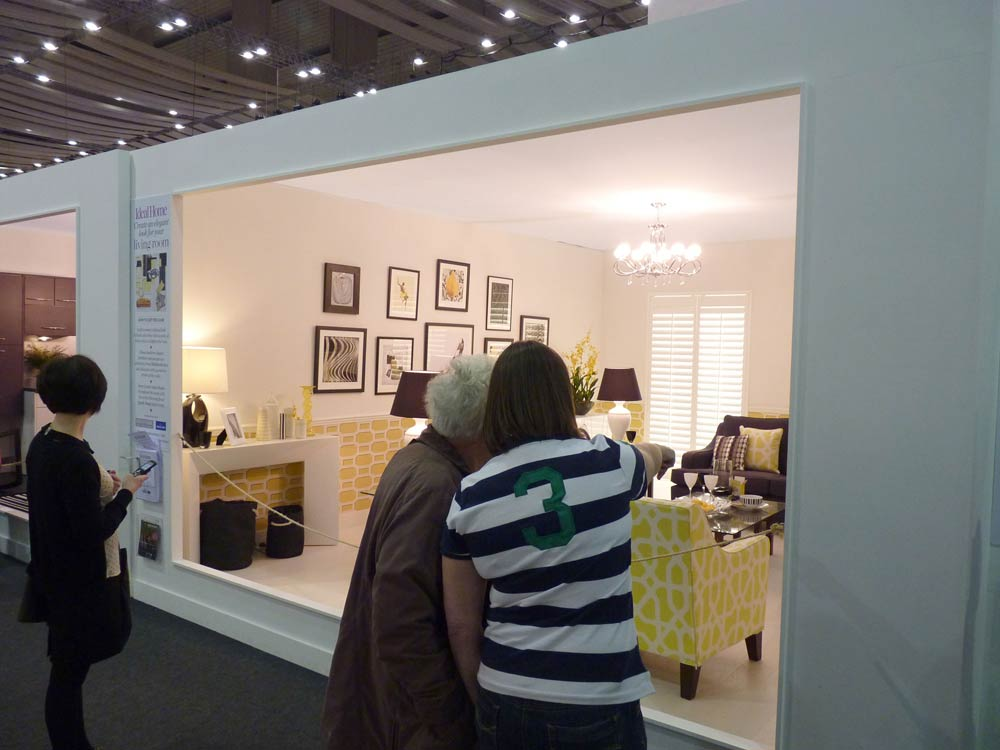Shutters at the Ideal Home Show