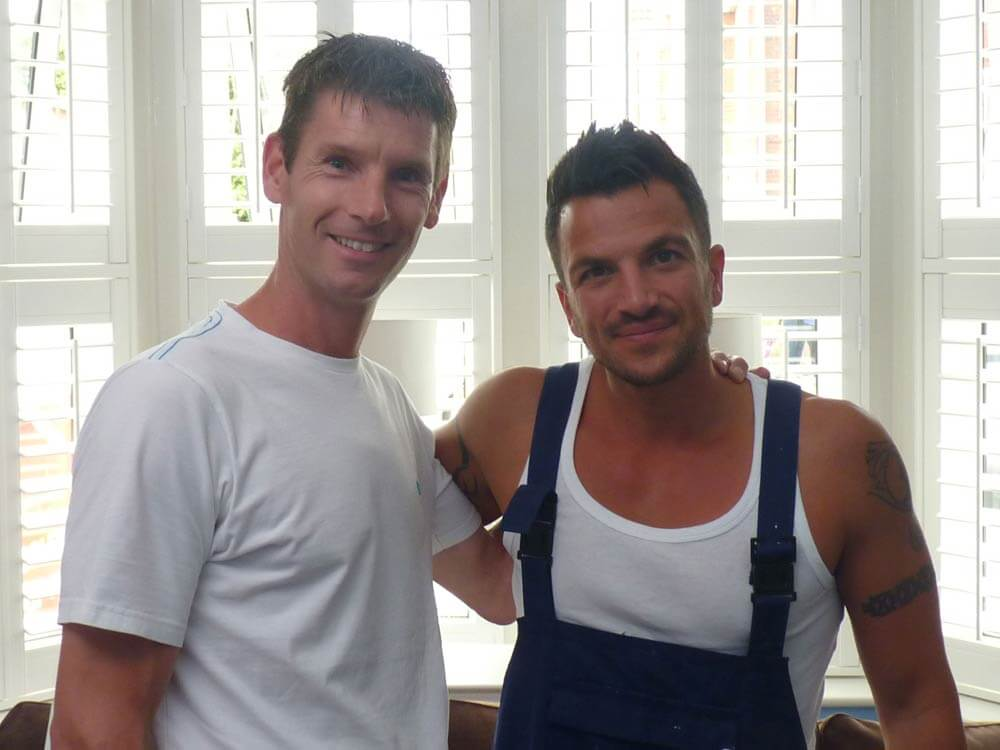 Sam Dunster and Peter Andre from ITV 60min