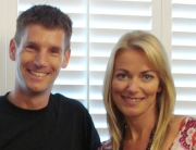 Sam Dunster and Terri Dwyer on a ITV 60min makeover show.