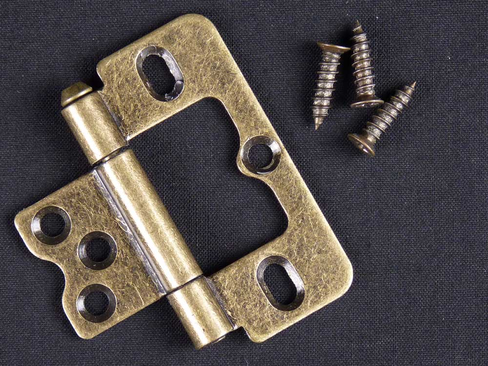 Antique Brass Shutter Hinge