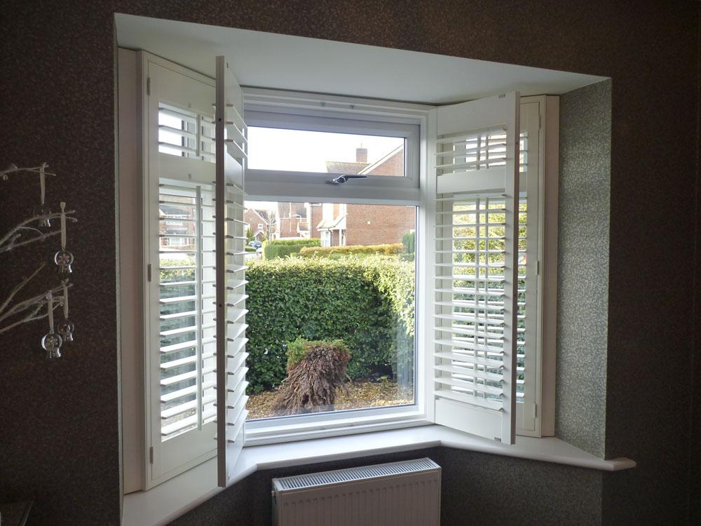 Bay window folding example