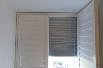 Interior window shutters – Some like it dark