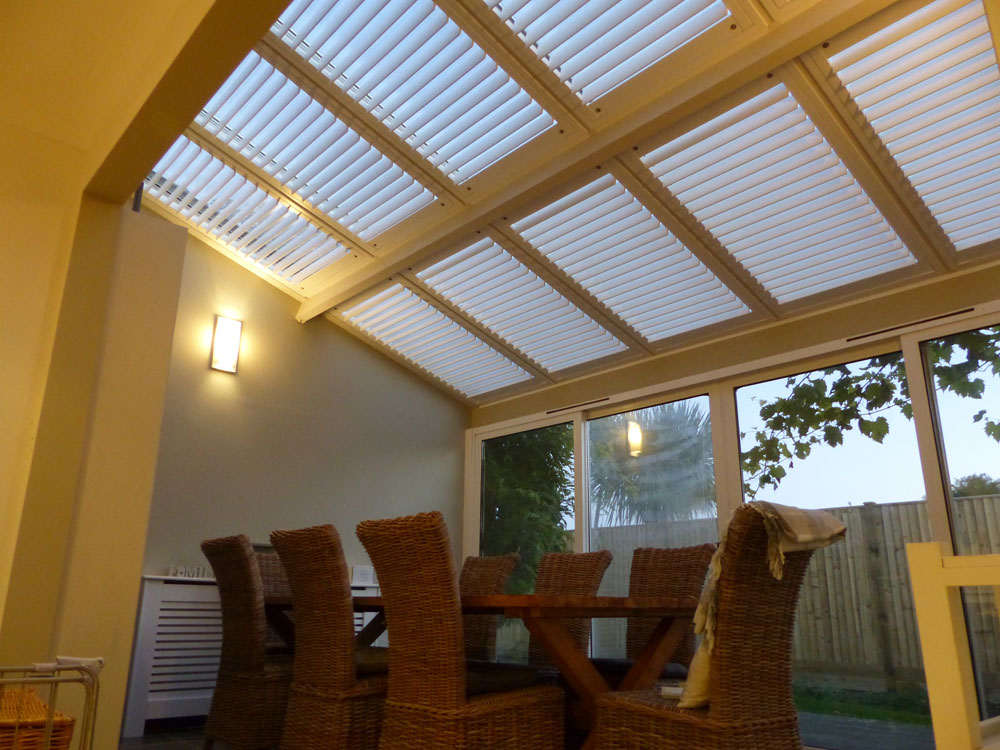 Conservatory panels fully fitted