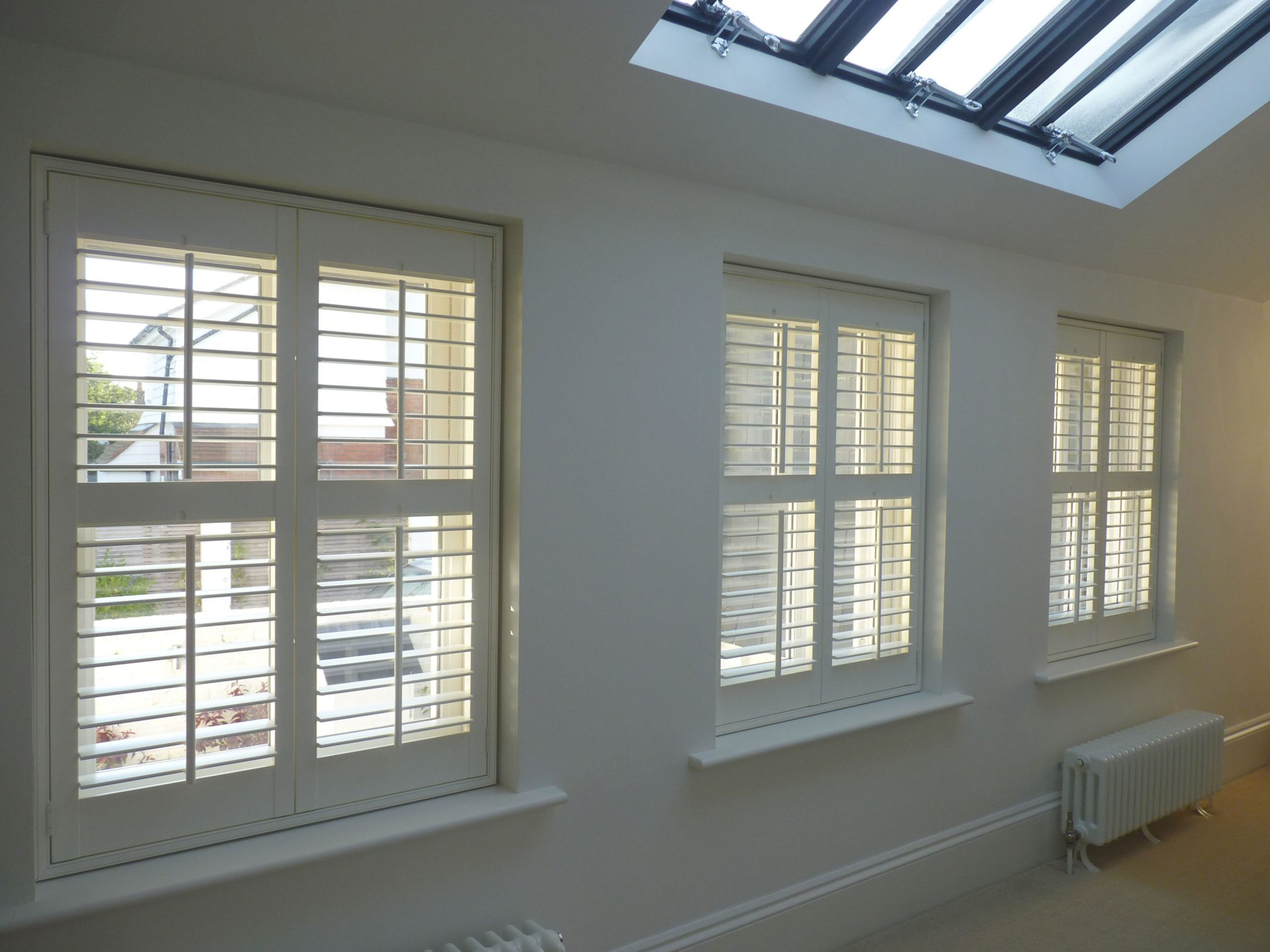 Standard Plus Shutters (Cuba) with mid rail