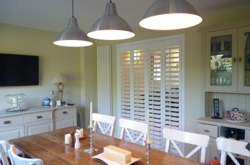 Isle of Wight Plantation shutters
