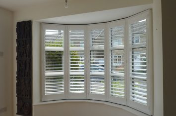 Keep out the sun with plantation shutters