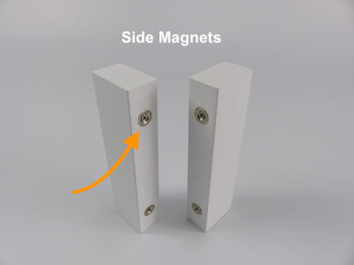Shutter Side Magnets with Butt Stile