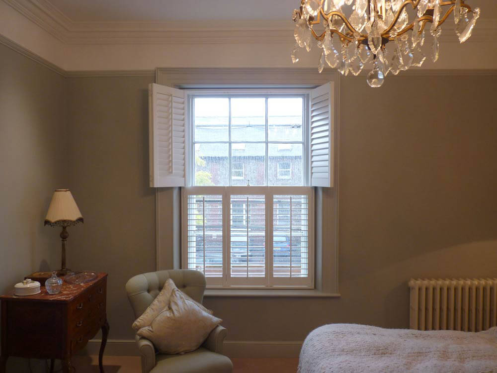 Top Opening Bedroom shutters