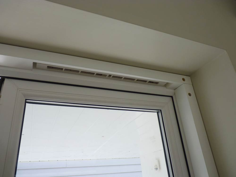 Shutter Batten Air Vent Cut Out