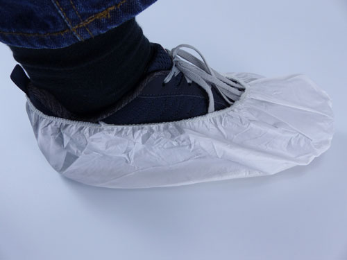 Non slip shoe covers