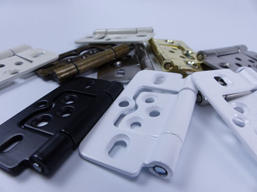 Selection of shutter hinges