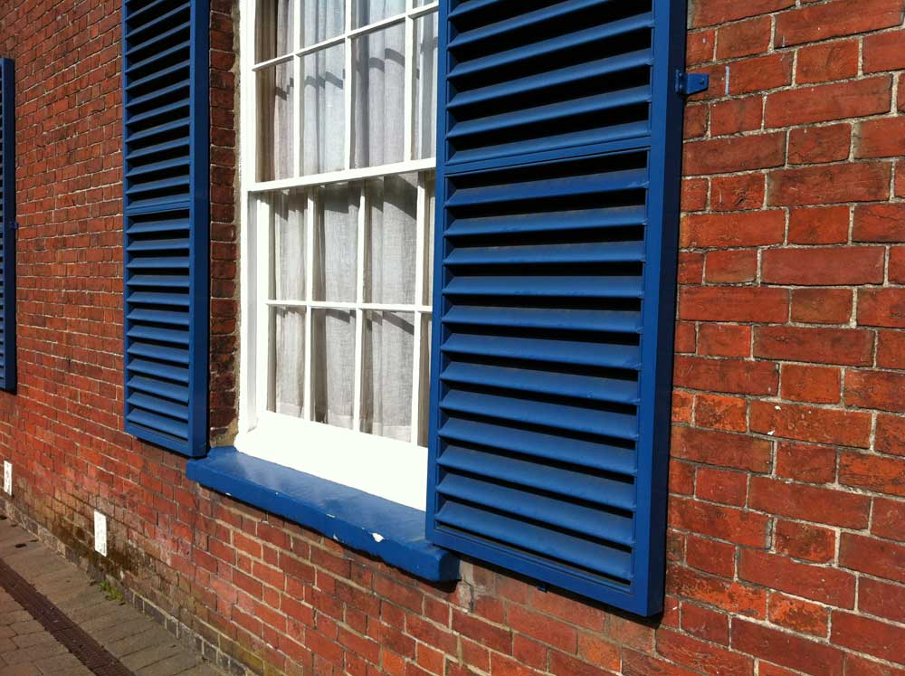 Wooden Exterior Shutters Advice From Opennshut